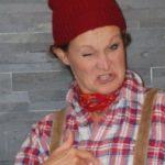 """Barbara Weinzierl - Kabarettistin aus München - Rollenbild aus """"Wir müssen reden! Sex, Geld und Erleuchtung"""""""
