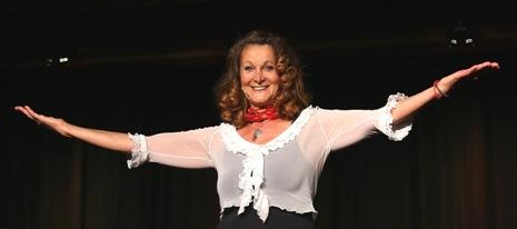 Barbara Weinzierl – Schauspielerin und Kabarettistin aus München heißt Sie herzlich Willkommen